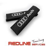 כריות לחגורות עם לוגו, AUDI