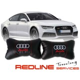 זוג כריות למשענת ראש AUDI,זוג כריות למשענת ראש AUDI,Car Neck Pillow Auto Head Neck Rest Cushion Relax Neck Support Comfortable Soft