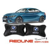 זוג כריות למשענת ראש במוו,BMW,Car Neck Pillow Auto Head Neck Rest Cushion Relax Neck Support Comfortable Soft