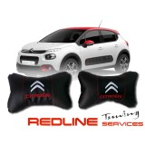 זוג כריות למשענת ראש סיטרואן CITROEN,Car Neck Pillow Auto Head Neck Rest Cushion Relax Neck Support Comfortable Soft