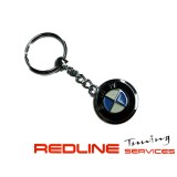 מחזיק מפתחות BMW ניקל כרום,key chain BMW