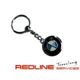 מחזיק מפתחות BMW ניקל כרום,key chain BMW
