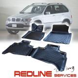 סט שטיחים תואם מקור,במוו X5,בעיצוב חדשני, עשוי מחומר PU איכותי הכולל פסים מיוחדים בצדדים להתאמה מושלמת ברכב, שטיח עבה במיוחד ונטול ריח רע. סט השטיחים ניתנים להתקנה עצמית פשוטה, קלה ומהירה, קל מאוד לניקוי ושטיפה ידנית. Car Floor Front & Rear Liner Mat For