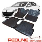 סט שטיחים תואם מקור,מזדה 3, 2009-2013,בעיצוב חדשני, עשוי מחומר PET איכותי הכולל פסים מיוחדים בצדדים להתאמה מושלמת ברכב, שטיח עבה במיוחד ונטול ריח רע. סט השטיחים ניתנים להתקנה עצמית פשוטה, קלה ומהירה, קל מאוד לניקוי ושטיפה ידנית. MAZDA 3 Car Floor Front &