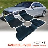סט שטיחים,מרצדס בנץ דגם W222,בעיצוב חדשני, עשוי מחומר PU איכותי הכולל פסים מיוחדים בצדדים להתאמה מושלמת ברכב, שטיח עבה במיוחד ונטול ריח רע. סט השטיחים ניתנים להתקנה עצמית פשוטה, קלה ומהירה, קל מאוד לניקוי ושטיפה ידנית. Car Floor MERCEDES BENZ W222 S-CLASS