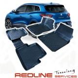 סט שטיחים,תואם מקור,רנו קליו דור 4, בעיצוב חדשני, עשוי מחומר PET איכותי הכולל פסים מיוחדים בצדדים להתאמה מושלמת ברכב, שטיח עבה במיוחד ונטול ריח רע. סט השטיחים ניתנים להתקנה עצמית פשוטה, קלה ומהירה, קל מאוד לניקוי ושטיפה ידנית. Car Floor RENAULT CLIO 4 Fro