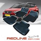 סט שטיחים,סיאט ארונה,בעיצוב חדשני, עשוי מחומר PET איכותי הכולל פסים מיוחדים בצדדים להתאמה מושלמת ברכב, שטיח עבה במיוחד ונטול ריח רע. סט השטיחים ניתנים להתקנה עצמית פשוטה, קלה ומהירה, קל מאוד לניקוי ושטיפה ידנית. Car Floor Seat ARONA Front & Rear Liner Mat