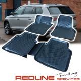 סט שטיחים תואם מקור סקודה קודיאק, בעיצוב חדשני, עשוי מחומר PET איכותי הכולל פסים מיוחדים בצדדים להתאמה מושלמת ברכב, שטיח עבה במיוחד ונטול ריח רע. סט השטיחים ניתנים להתקנה עצמית פשוטה, קלה ומהירה, קל מאוד לניקוי ושטיפה ידנית. SKODA KODIAK Car Floor Front &