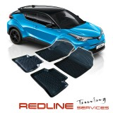 TOYOTA CHR Car Floor Front & Rear Liner Mat