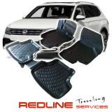 סט שטיחים,פולקסווגן טיגואן,בעיצוב חדשני, עשוי מחומר PET איכותי הכולל פסים מיוחדים בצדדים להתאמה מושלמת ברכב, שטיח עבה במיוחד ונטול ריח רע. סט השטיחים ניתנים להתקנה עצמית פשוטה, קלה ומהירה, קל מאוד לניקוי ושטיפה ידנית. Car Floor Front & Rear Liner Mat For