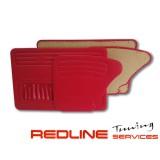 סט דיפונים פולקסווגן חיפושית 1967-1979 צבע אדום