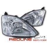 פנסים קידמיים הונדה סיויק 2001-2005 דגם EP3 הצ'בק 3/5 דלתות,HEAD LIGHTS HONDA CIVIC