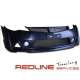 FRONT BUMPER (MUGEN RR style) PP PLASTIC MESH with FOG LAMP COVER