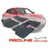 סט שטיחים,ניסאן ג'וק,בעיצוב חדשני, עשוי מחומר PU איכותי הכולל פסים מיוחדים בצדדים להתאמה מושלמת ברכב, שטיח עבה במיוחד ונטול ריח רע. סט השטיחים ניתנים להתקנה עצמית פשוטה, קלה ומהירה, קל מאוד לניקוי ושטיפה ידנית. Car Floor Front & Rear Liner Mat For NISSAN