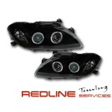 פנסים קידמיים,אנגלאייז,רקע שחור,הונדה S2000