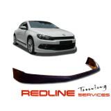 פרונט ליפ פולקסווגן שירוקו דגם ריגר,פלסטיק שחור,Front lip Spoiler VW SCIROCCO RIEGER, איסוף עצמי