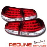 פנסים אחוריים פולקסווגן גולף 6 אדום לבן עם לדים,REAR LIGHT VW GOLF 6 LED RED WHITE